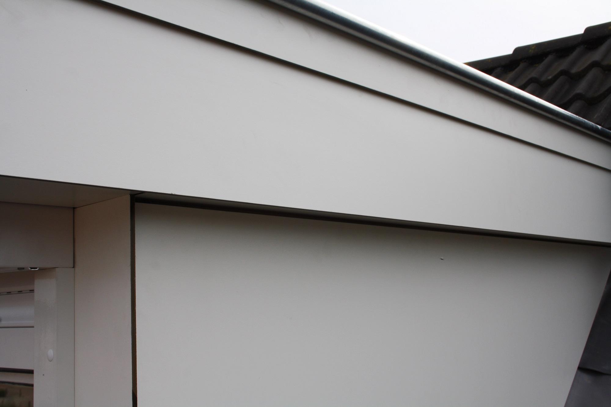 Van grinsven dakkapellen kunststof dakkapel 5 meter - Kleur schilderij zink ...